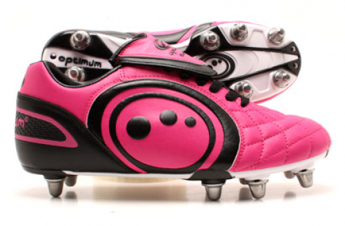 Optimum Eclipse Rugby Boots Pink