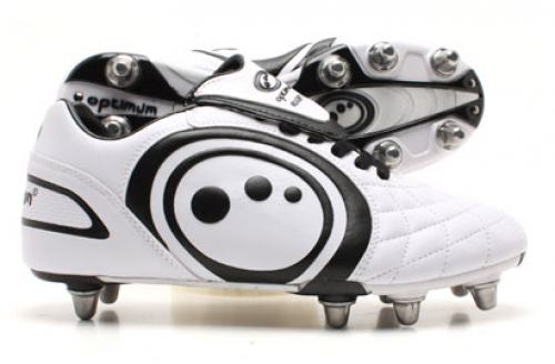 Optimum Eclipse Rugby Boots White