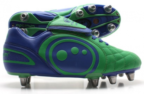 Optimum Eclipse Rugby Boots Green