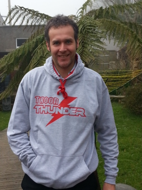 Troon Thunder Hoodie Youth