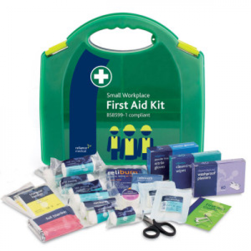 Small BS8599 First Aid Kit Hard Case