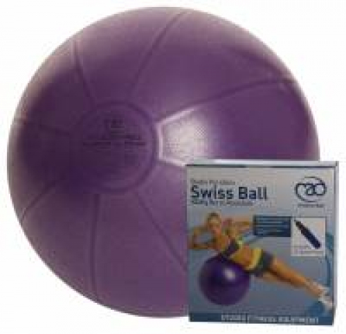 Fitness-Mad Studio Pro 500kg Anti-Burst Swiss Ball and Pump