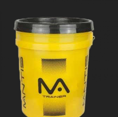 Trainer Ball Bucket - Yellow