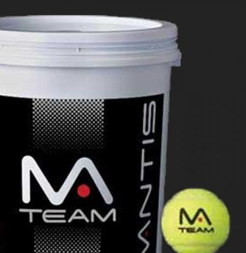 Team Tennis Ball Bucket - Black