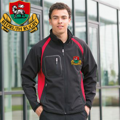 Redruth RFC Soft Shell Jacket