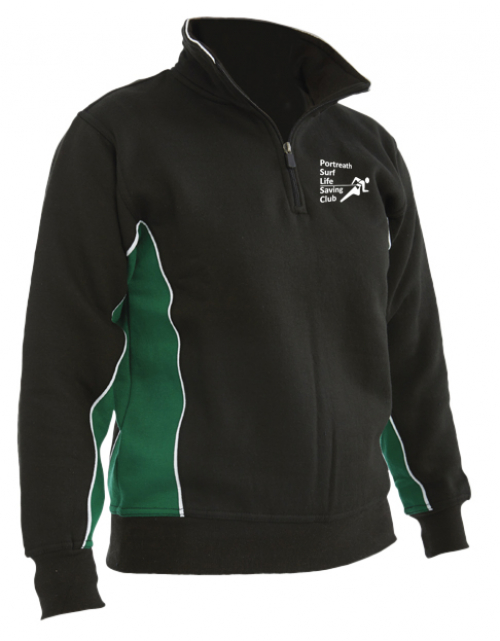 Portreath SLSC Quarter Zip Sweatshirt