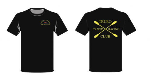 TCRC Black Cotton Tee Youth
