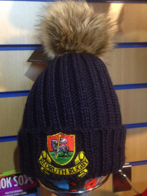 Redruth RFC Faux Fur Beanie