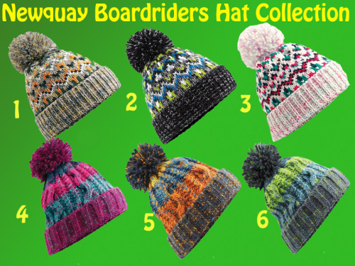 Newquay Boardriders Hat Collection