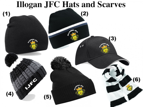 Illogan JFC Hat and Scarf Collection