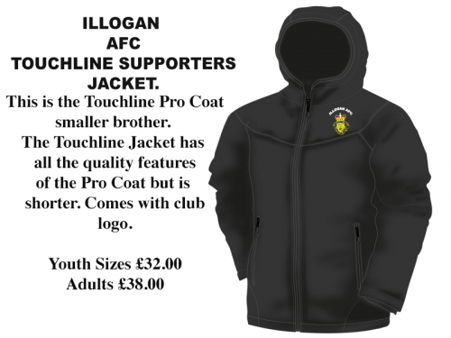 Illogan JFC Touchline/Supporters Jacket