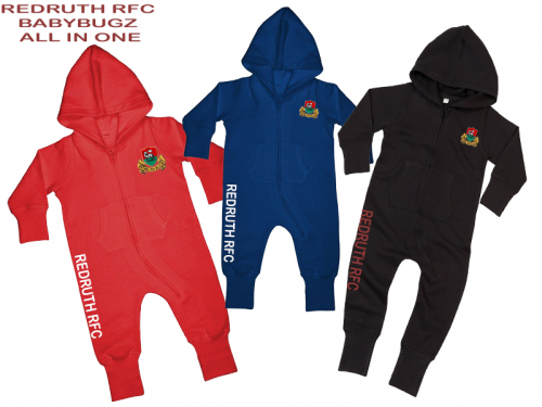 Redruth RFC Babybugz All in One
