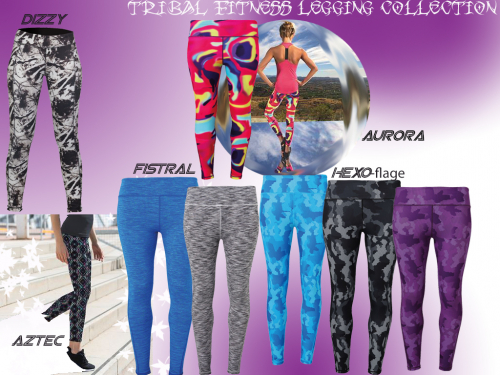 Tribal Fitness Leggings