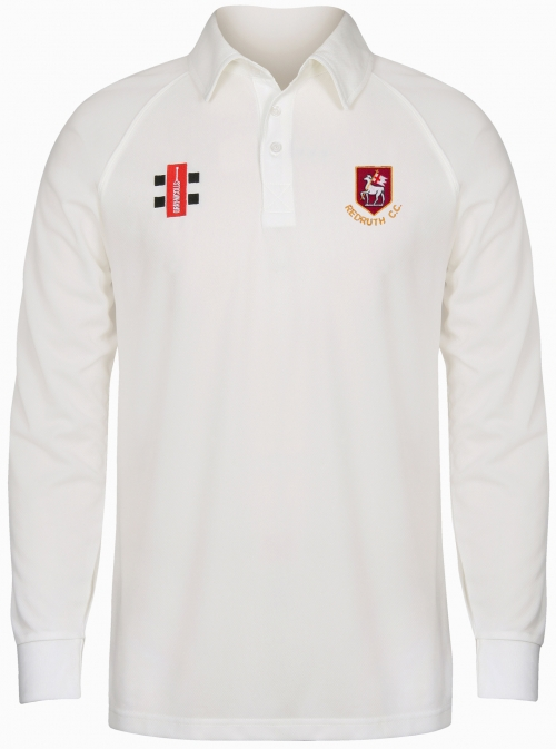 Redruth CC L/Sleeved Playing Shirt