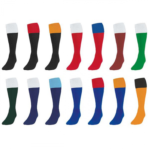 Precision Training Contrast Turnover Tops Football Socks