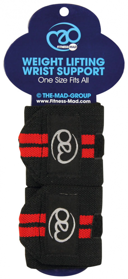 Weight lifting wrist supports