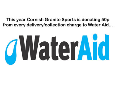 We're donating to Water Aid