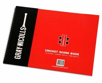 Gray Nicholls 112 Innings Scorebook