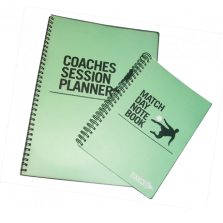 Match Day Notes and Coaching Session Planner