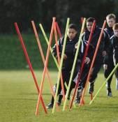 Precision Training Boundary Poles