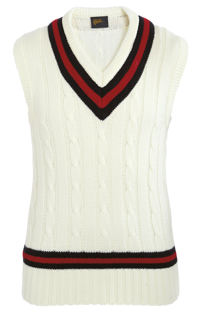 Troon CC Trimmed Sleeveless Jumper Youth Size