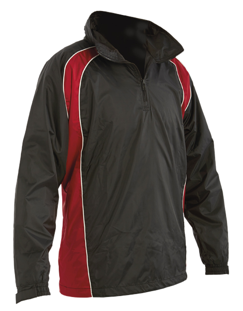 Fowey River Canoe Club 1/4 Zip Rain Jacket Youth