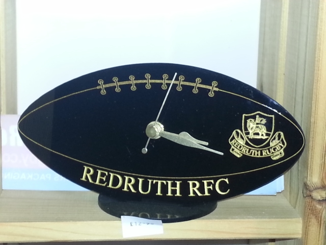 Redruth RFC Desk Clock