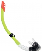 Divetech Delta Snorkel - Black / Yellow