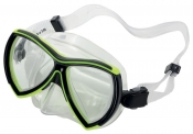 Divetech Ocean Mask - Black & Yellow