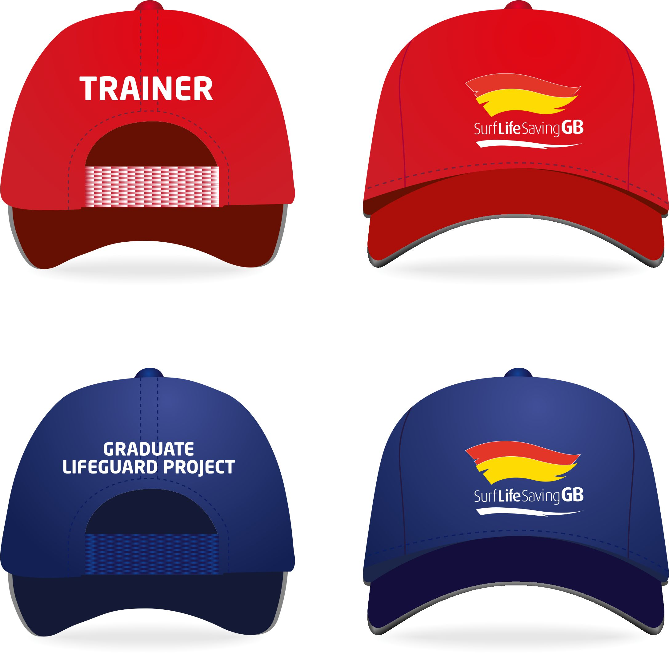 SLSGB Graduate Lifeguard Project Cap