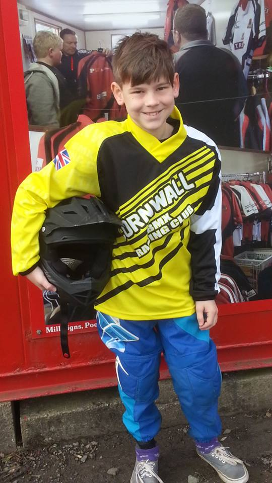 Cornwall BMX Race Shirt Youth