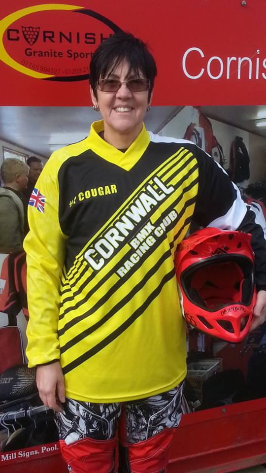 Cornwall BMX Race Shirt Adults