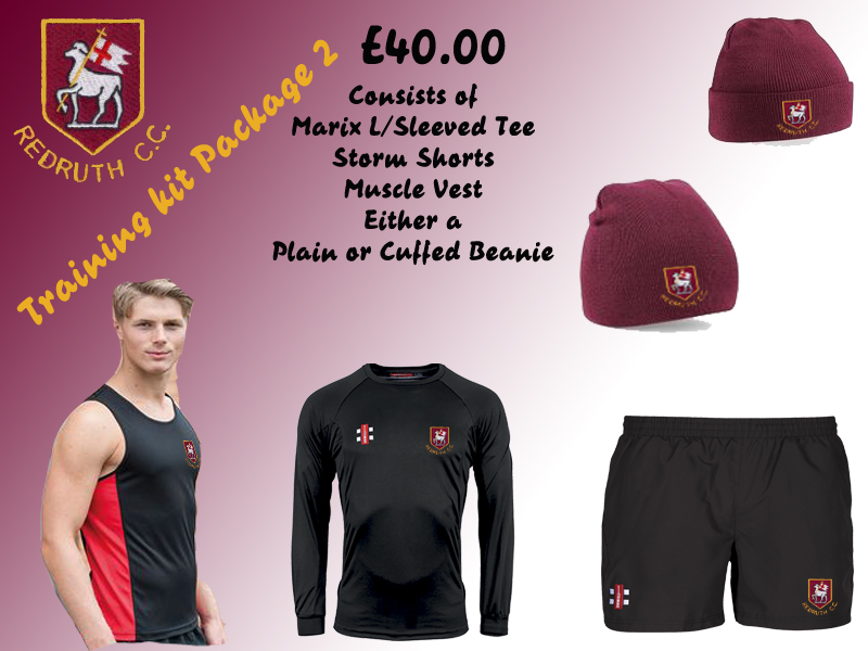 Redruth CC Training Kit 2