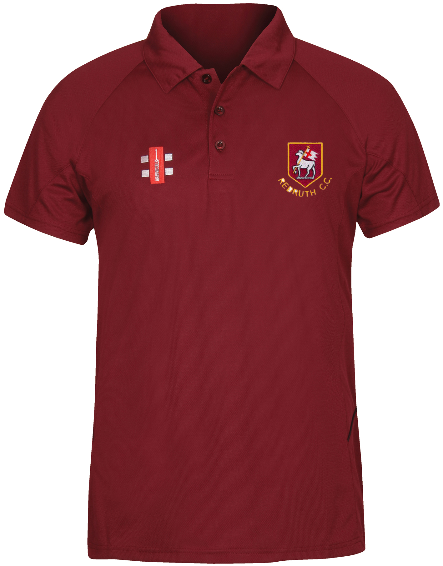 Redruth CC After Match Polo Shirt