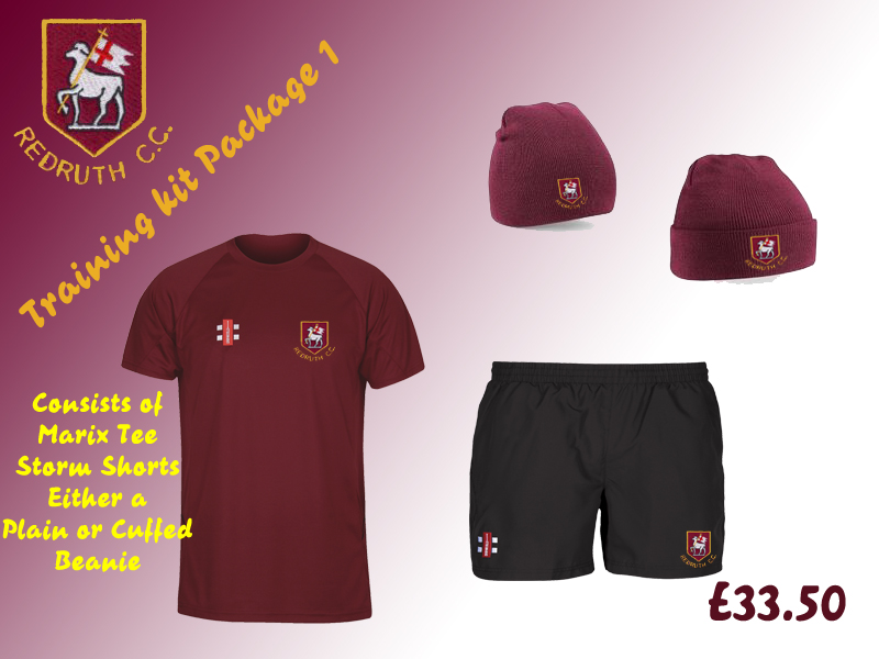 Redruth CC Training Kit 1