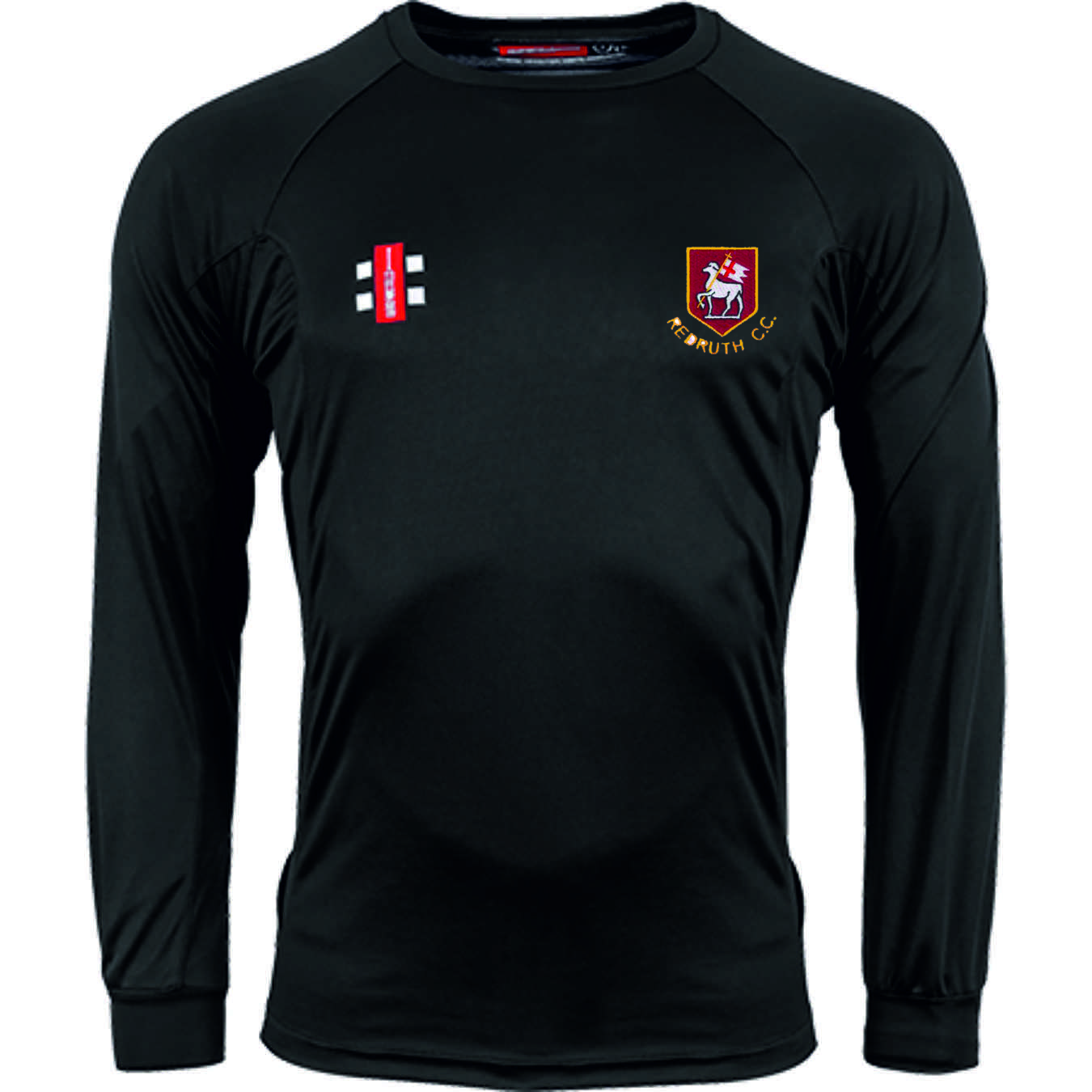 Redruth CC Matrix Long Sleeved Training Tee
