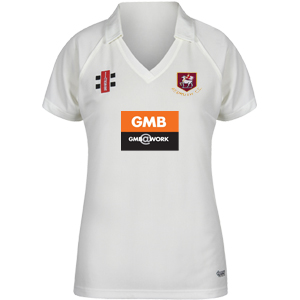 Redruth CC Ladies Match Shirt Ivory