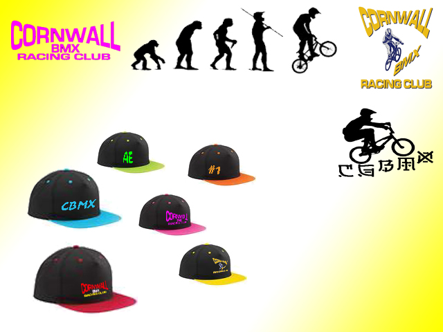 Cornwall BMX Snap Caps