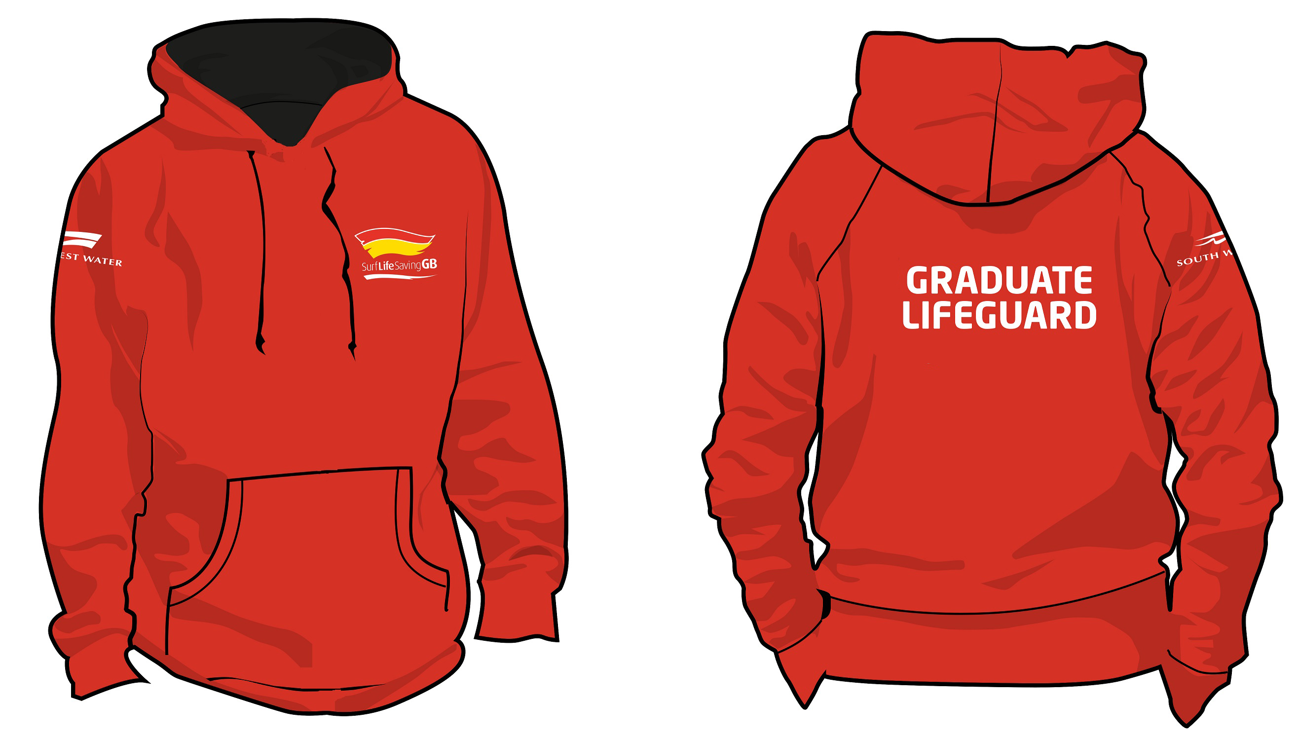 Graduate Lifeguard  Hoodie