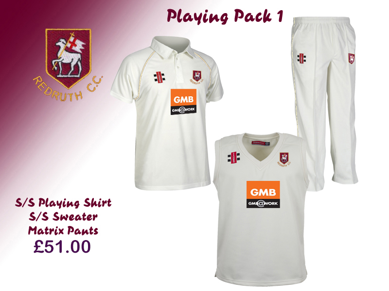 Redruth CC Playing Pack 1 Adults