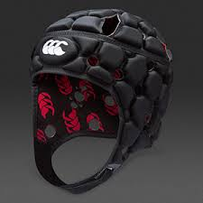 Canterbury Black/Silver Headguard