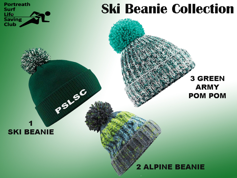 Portreath SLSC Beanie Collection