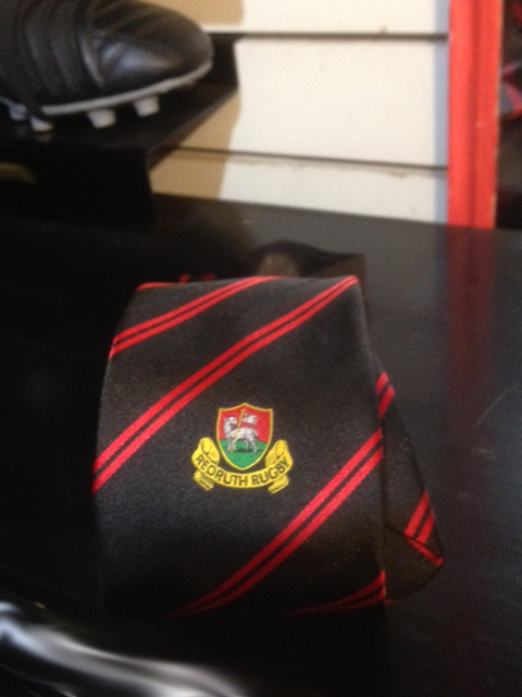 Redruth RFC Supporters Tie
