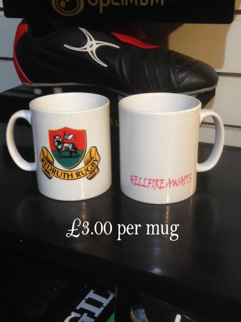Redruth RFC Mug
