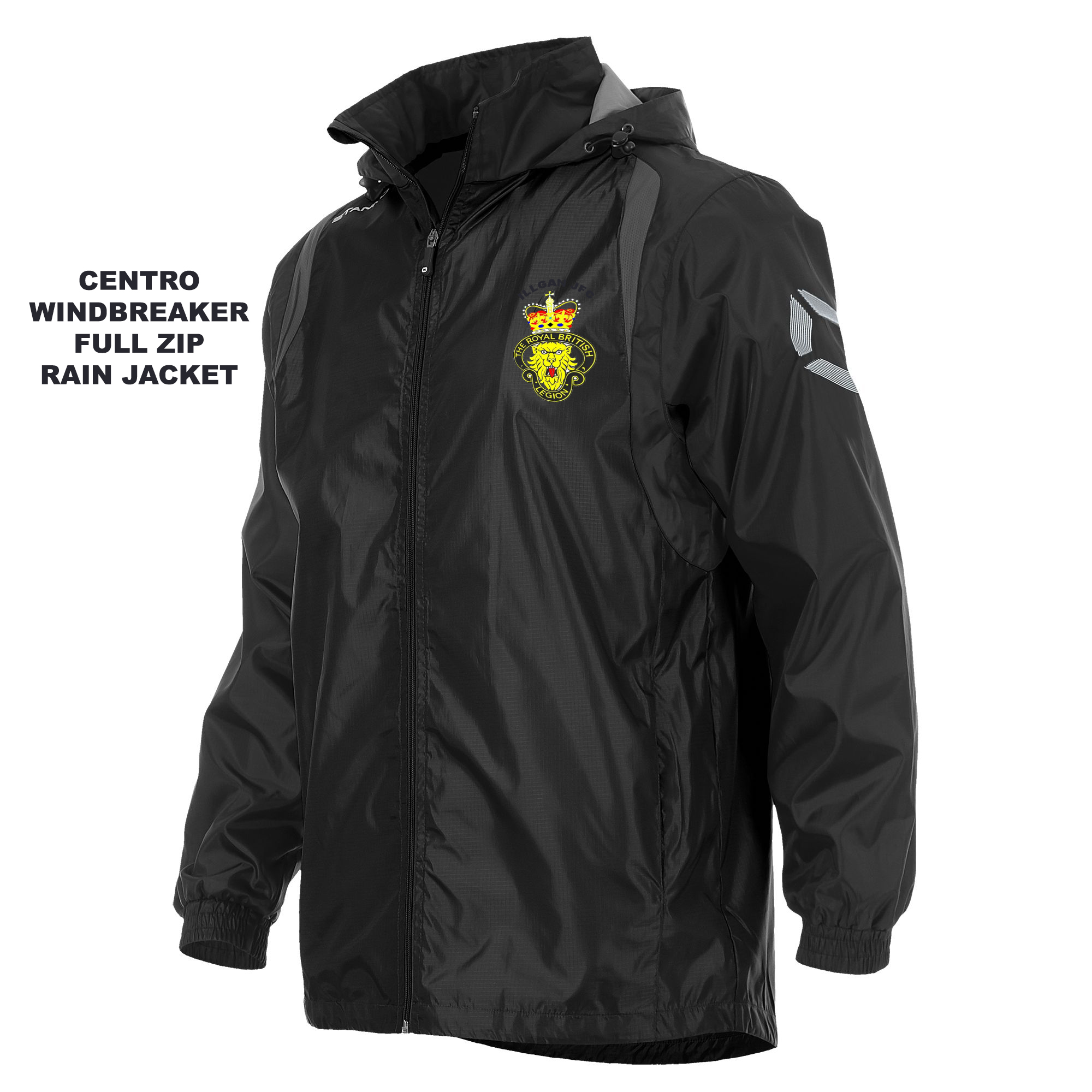Illogan JFC Stanno Centro Rain Jacket