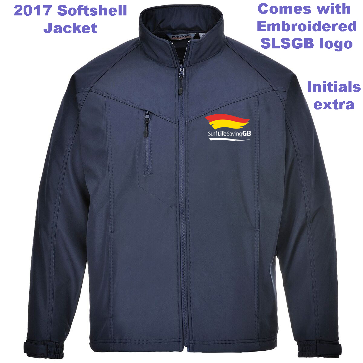 SLSGB Soft Shell Jacket PW163