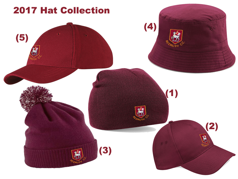 Redruth CC Hat and Cap Collection