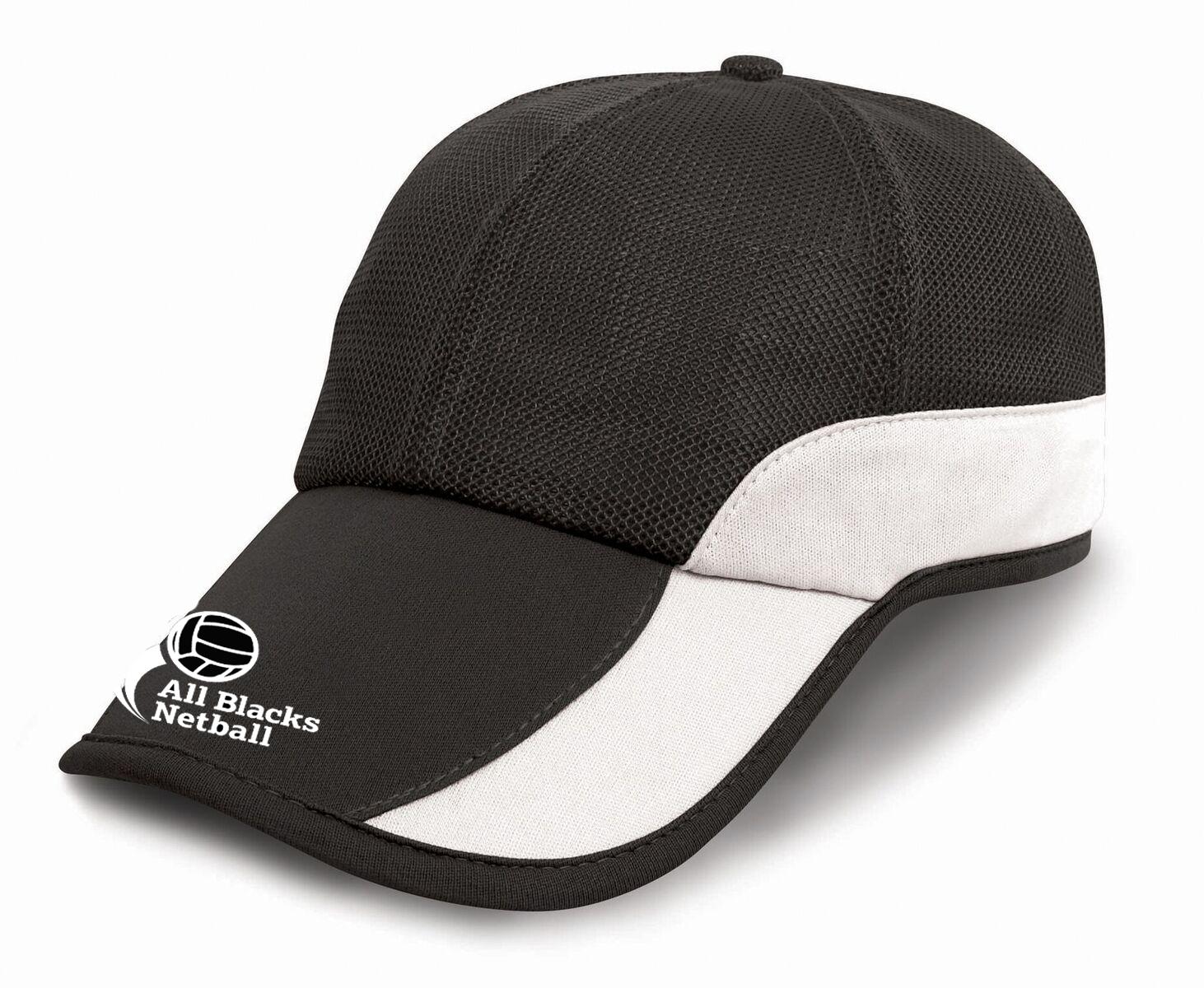 ALL BLACKS NETBALL CAP