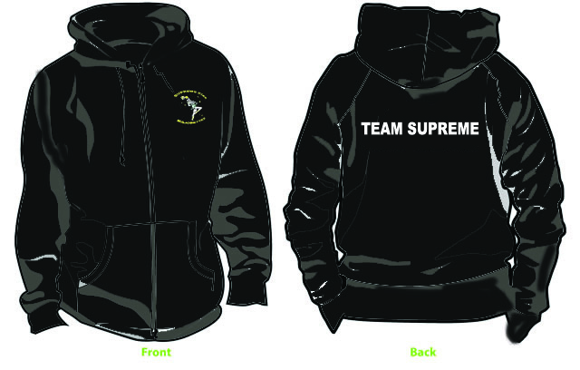 New for 2018 Team Supreme Hoodie