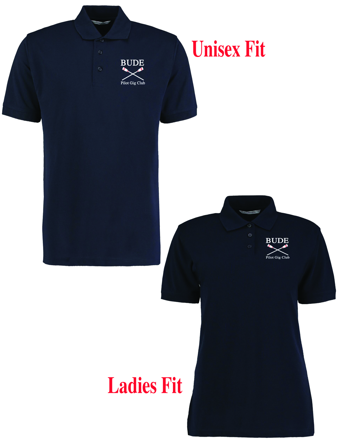 Bude Pilot Gig Club Polo Shirt